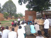 Community members at Irenzi